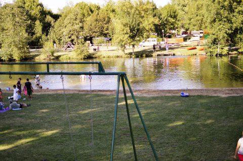 Freibad im Fluss – Lisle